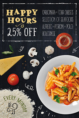 Pasta FREE PSD Flyer Template