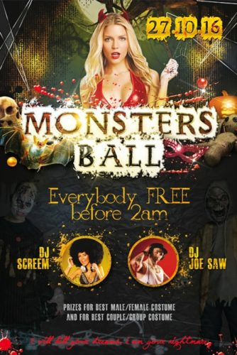 Monsters_Halloween_Party_Flyer_Template