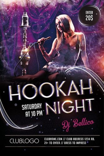 Hookah_Night_Party_Flyer_Template