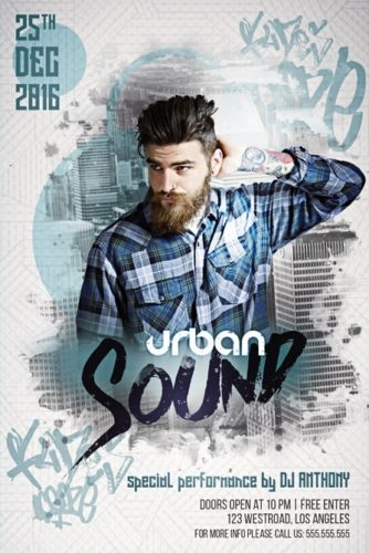 Urban_Sound_Party_Flyer_Template