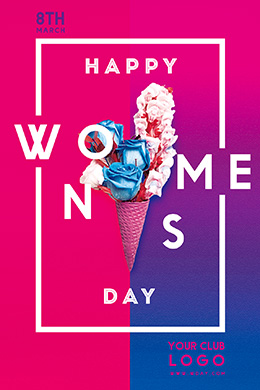 Happy Women's Day FREE PSD Flyer Template