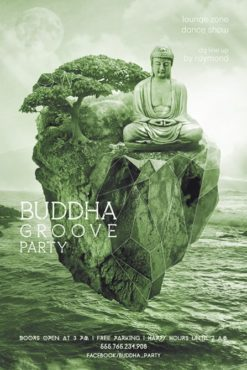 Buddha_Groove_Party_Flyer_Template_3