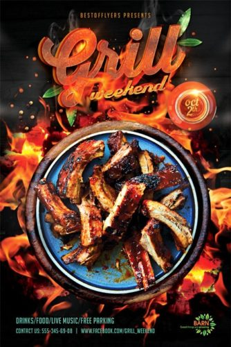 Grill_Weekend_Flyer_Template