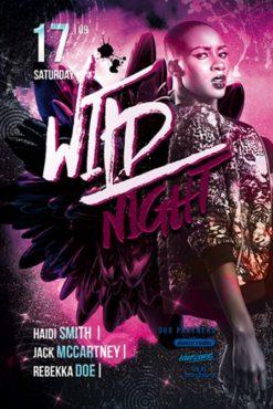 Wild_Night_Flyer_Template_3