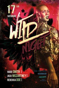 Wild_Night_Flyer_Template_4