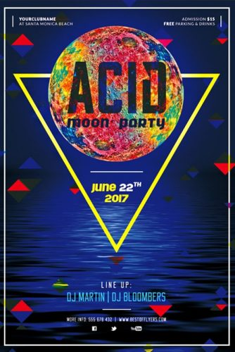 Acid_Moon_Party_Flyer_Template
