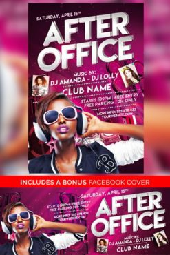 After_Office_Party_Flyer_Template_1