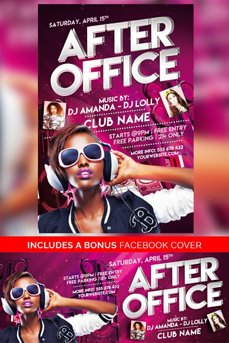 After Office Free Party Flyer Template Best Of Flyers