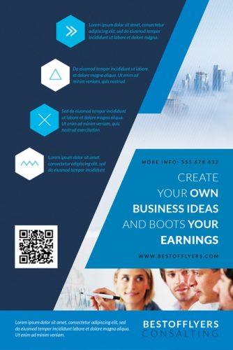 corporate free flyer template