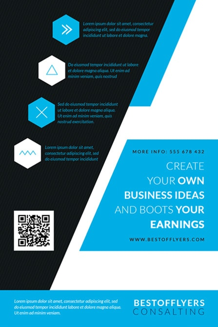 business free flyer template