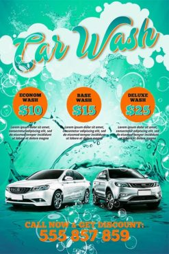car wash free poster template best of flyers. Black Bedroom Furniture Sets. Home Design Ideas