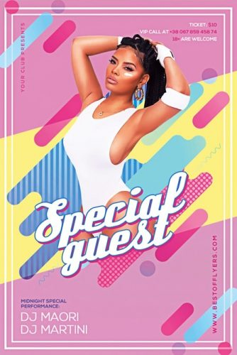Geometric_Special_Guest_Party_Flyer_Template