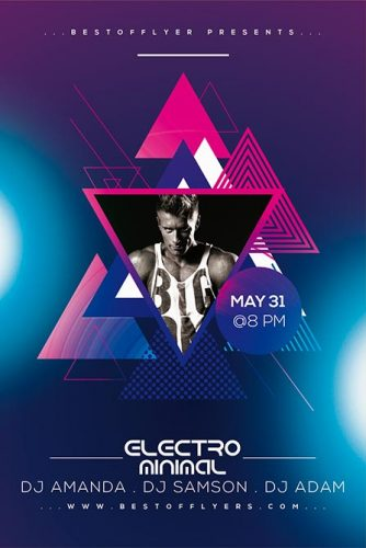 Minimal_Electro_Flyer_Template
