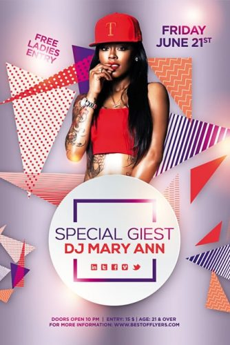 Special_Guest_Dj_Party_Flyer_Template_1