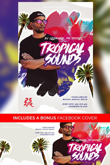 DOWNLOAD TROPICAL SOUNDS FREE FLYER TEMPLATE