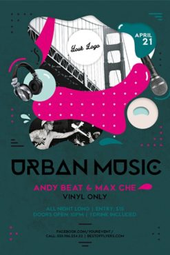 Urban_Music_Flyer_Template_2