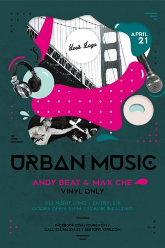 musical flyer templates