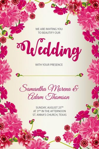Best of Flyers Shop - Free Wedding Flyer Templates Here