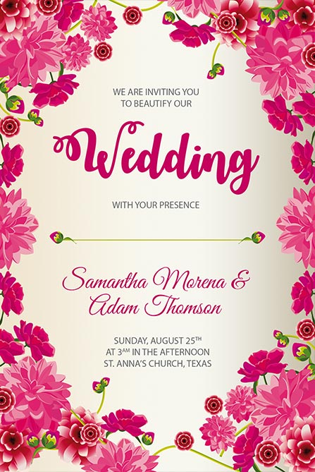 Wedding Free Poster Template Best Of Flyers