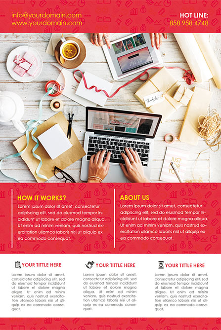 Creative Agency Free Poster and Flyer Template