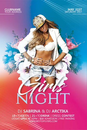 Girls_Night_Flyer_Template_1