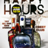 Happy Hours Free Flyer and Poster Template