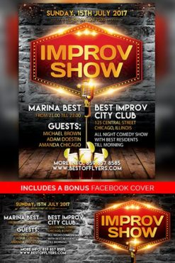 Improv_Show_Flyer_Template