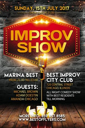 Improv_Show_Flyer_Template_1