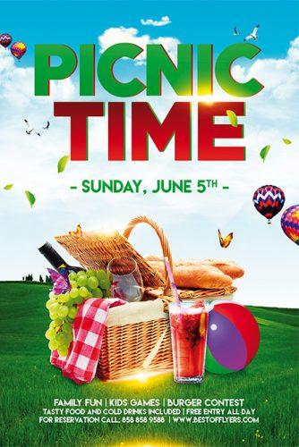 Picnic_Time_Flyer_Template_1