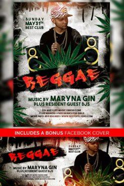 Reggae_Flyer_Template