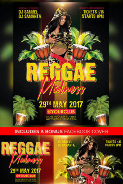 Reggae_Madness_Flyer_Template