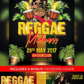 Reggae_Madness_Flyer_Template