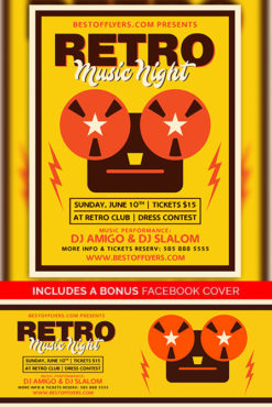 Retro_Music_Night_Flyer_Template