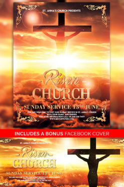 Risen_Church_Flyer_Template