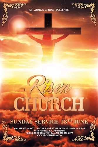 Risen_Church_Flyer_Template_1
