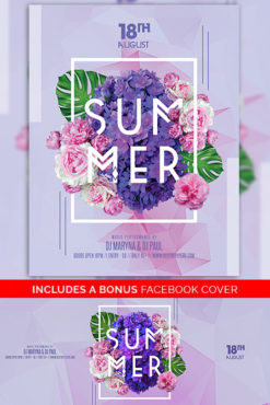 Summer_Night_Flyer_Template