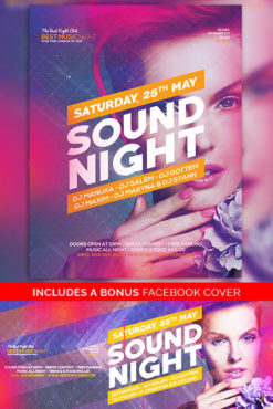 sound_night_Flyer_Template