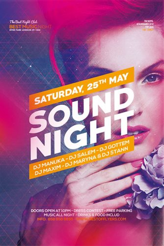 sound_night_Flyer_Template_1