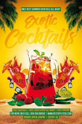 Exotic_Cocktails_Flyer_Template_1
