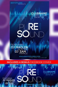Pure_Sounds_Night_Flyer_Template
