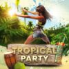 Tropical Party Free Flyer Template
